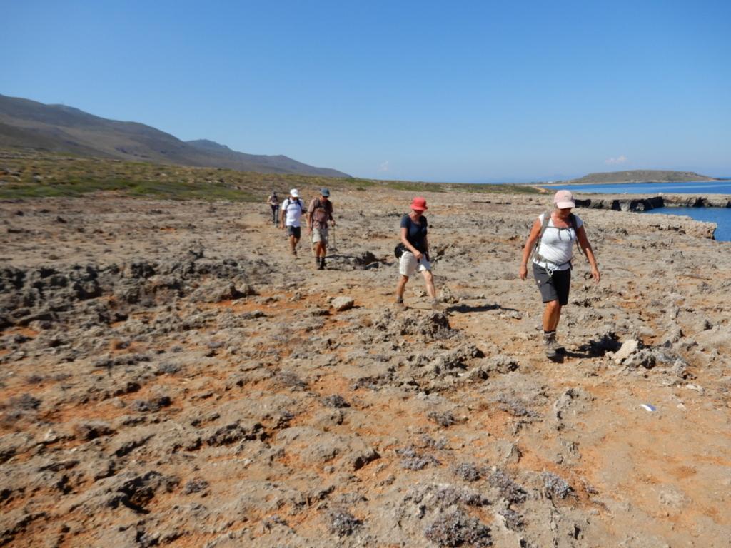 hiking trekking kythira